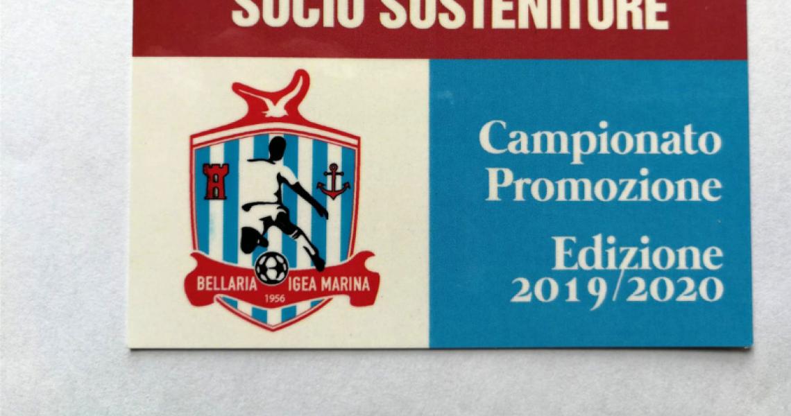 Campagna Abbonamenti 2019/20 - Socio Sostenitore